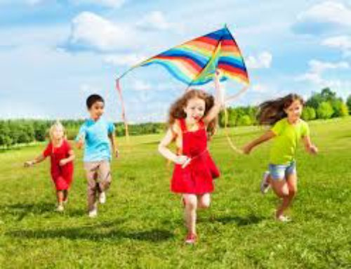 Children Are Like Kites